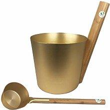 Sudorewell Kit pour sauna Seau 5,0 L + louche en