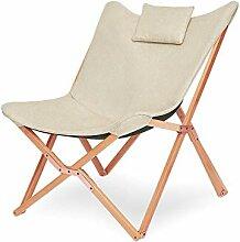 Suhu Chaise Longue Pliable Fauteuil Salon Relax