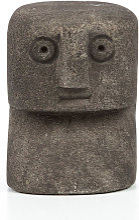 Sumba Stone 14 - Statuette en grès H7cm