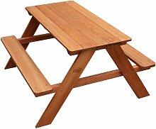 Sunny - AXI Dave Table pique nique en Bois   Table