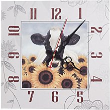 Sunny Toys Horloge Murale Décorative - Vache,