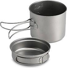 Sunydog 1100ML / 1600ML Set de casseroles en