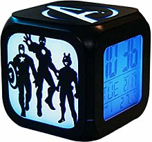 Super Creative Avengers Réveil, 3D Stéréo LED