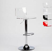 Superstool - Tabouret haut bar et cuisine en acier