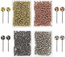 Supertool Lot de 800 punaises en métal pour carte
