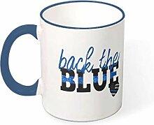 superyu Mug Back The Blue Cup Mug à café coloré