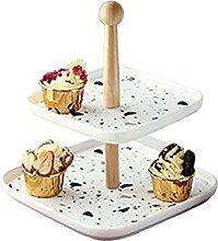 Support à cupcake Stand de gâteau en céramique