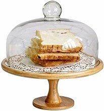 Support à gâteau avec dôme, plateau