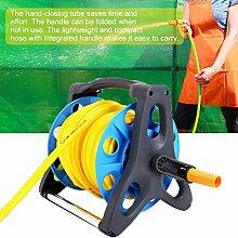 Support de bobine de tuyau de jardin chariot de