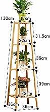Support De Plante En Bois Présentoir De Fleurs