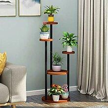 Support de Plante en métal intérieur - 5 Pots