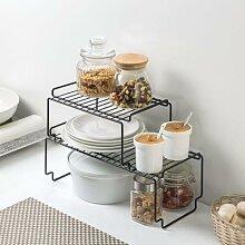 Support de séchage de vaisselle réglable,