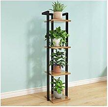 Support pour plantes en fer forgé pour balcon