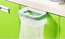 Support vert pour sac poubelle : 2