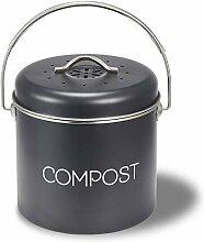 Supremery Poubelle à compost Poubelle pour