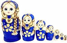 SUPVOX Jouets empilables Russes poupées Russes