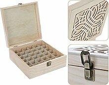 Sureh Boîte de rangement pour huiles essentielles