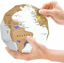 Surenhap Globe à Gratter Carte du Monde Le Globe
