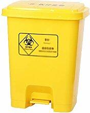 Surface lisse Grande poubelle, Pédale flip Trash