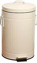 Surface lisse Trash Can Retro, Cuisine Salle de
