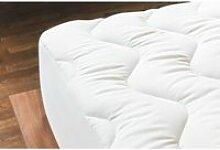 Surmatelas coton 160x200cm