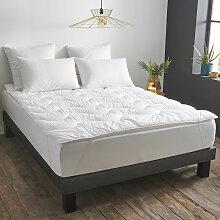 Surmatelas Gonflant Durable - Coton Bio  140x190 cm