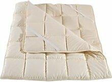 Surmatelas laine lavable épais woolsleep 160x190