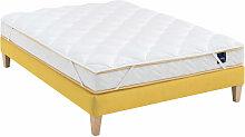 Surmatelas ouate 600g/m² S25 180x190 - Blanc -