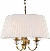 Suspension 3 ampoules langham, laiton antique,
