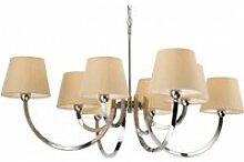 Suspension 8 ampoules fairmont, acier inoxydable,