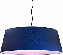 Suspension abat-jour pink d 80 cm