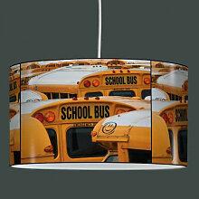 Suspension abat-jour school bus