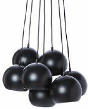 Suspension Ball / Set de 7 - Frandsen noir en
