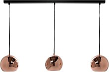 Suspension BALL TRACK de Frandsen, Cuivre glossy