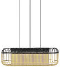 Suspension Bamboo Oval / Large -78 x 45 x H 24 cm