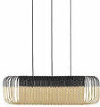 Suspension Bamboo Oval / Medium - 80 x 38 x H 24