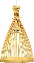 Suspension Bambou Créatif en Bambou Luminaire