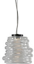 Suspension Bibendum LED / Ø 15 cm - Verre -