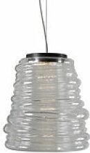 Suspension Bibendum LED / Ø 30 cm - Verre -