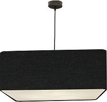 Suspension carré noir d 50 cm