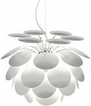 Suspension Discocó / Ø 35 cm - Marset blanc en