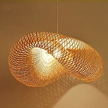 Suspension E27 Lumières Lustre Salon LED bois
