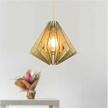 Suspension élégante style lampion en bois - Nabi