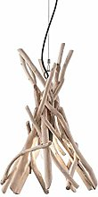 Suspension en bois flotté Driftwood Ideal lux