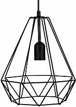 Suspension filaire en métal Noir - Atmosphera