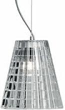 Suspension Flow Ø 12cm - Fabbian transparent en