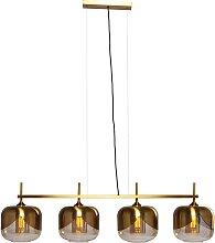 Suspension Goblet Quattro dorée Kare Design