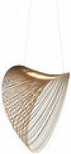 Suspension Illan LED / Ø 60 cm - Bois - Luceplan