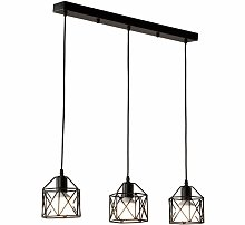 Suspension industrielle Vintage Lampe Lustre