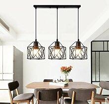Suspension industrielle Vintage Lampe Lustre